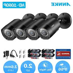 ANNKE 4x 960P 1800TVL HD In/ Outdoor IR Day Night Cameras CC