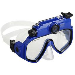 Diving Mask with HD Camera Photo DVR Video Recorder Underwat