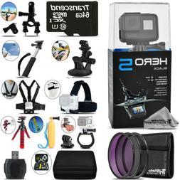 GoPro Hero5 Black 4K Ultra HD Camera + Filter Kit UV-CPL-FLD