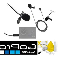 HD LAVALIER MICROPHONE FOR GOPRO HERO CAMERAS HERO4 HERO3 HE