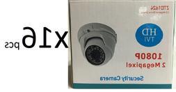 HD TVI 1080P Dome Camera 2MP 1/3 SONY 3.6mm Lens, 24 IR, USA