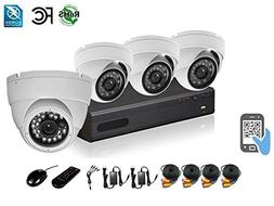 HDView 12 Channel 2.4MP 1080P HD Megapixel Security Camera S