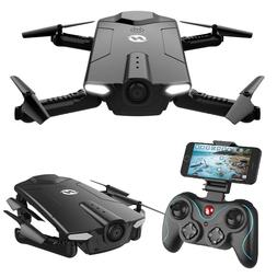 Holy Stone HS160 Shadow Foldable mini RC Drone with FPV HD C