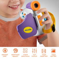 Kids Digital Camera Anti-Drop Anti-Lost 1080P HD Video Camer