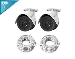 LaView 2 Pack HD 1080P 2MP PoE IP 4mm Indoor/Outdoor Weather
