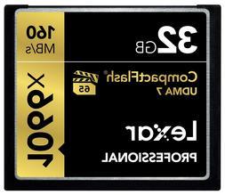 Lexar Professional 1066x 32GB VPG-65 CompactFlash card