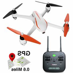 MJX Bugs 2 Drone with Camera and GPS - 2MP 1080p HD Camera D