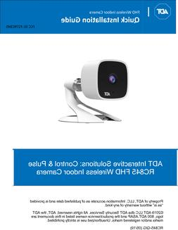New ADT Pulse Indoor HD Camera RC8326 replaces RC8325-ADT V2