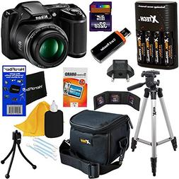 Nikon COOLPIX L340 Digital Camera with 28x Zoom & Full HD Vi