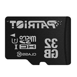 Patriot LX Series 32GB High Speed Micro SDHC Class 10 UHS-I