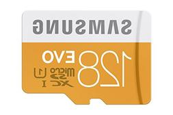 Samsung 128GB up to 48MB/s EVO Class 10 Micro SDXC Card with
