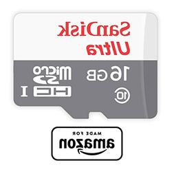SanDisk 16 GB micro SD Memory Card for Fire Tablets and Fire
