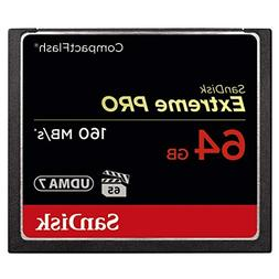 SanDisk Extreme PRO 64GB Compact Flash Memory Card UDMA 7 Sp