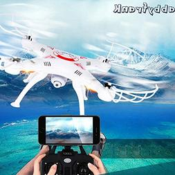 Toy, Play, Fun, Abbyfrank X5C RC Real-time Transmission Heli