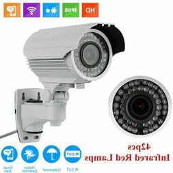 Waterproof 1200TVL HD Camera CCTV LED Home Outdoor Security