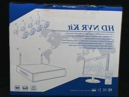 ZOSI Wireless Security Cameras System, 4CH 1080P HD WiFi NVR