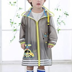 ZZHF yuyi Raincoat Waterproof Fashion Poncho With Bag 3 Colo