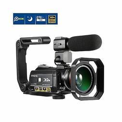 Ordro AC3 4K Camcorder 3.1 IPS Ultra HD WiFi Video Camera