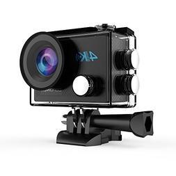 DBPOWER DB0923 N5 4K Action Camera, 5X Zoom HD 20MP Sony Sen