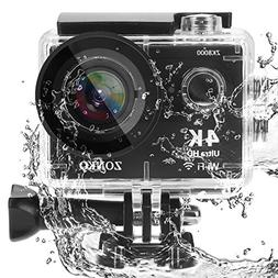 Action Camera, ZONKO 4K Ultra HD WIFI Sports Camera, 12MP 17