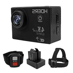 Action Camera 4K Ultra HD 30fps Wifi Waterproof with SONY Se