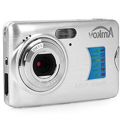 AMKOV AMK-CDFE Mini Digital Camera 18 Megapixel 2.7 Inch Dis