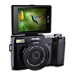 Amkov AMK-CDR2 Digital Camera 24 Megapixel 1080P HD Shooting