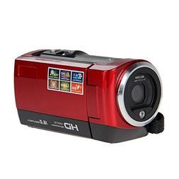 AMKOV AMK-DV162 HD 720P Digital Camera 16MP Video 2.7 Inches