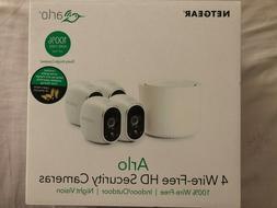 NETGEAR Arlo HD System 4 Wire-Free HD Cameras, Indoor/Outdoo