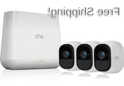 Netgear Arlo Pro Smart Security System With 3 HD Cameras