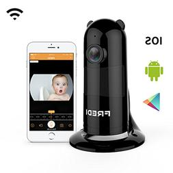 FREDI Baby Monitor Wireless WiFi Ip Surveillance Camera 1080