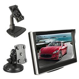 Backup Camera and Monitor Kit, Car/Vehicle/Truck Waterproof