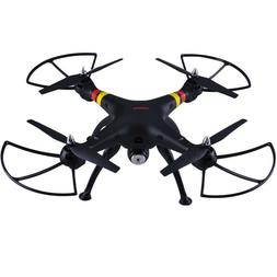 Black Syma X8W FPV 2.4Ghz RC Quadcopter Drone UVA 2MP Wifi C