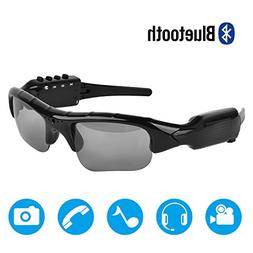 Bluetooth Sunglasses,MOVTEKE Digital Camera Sunglasses Recor