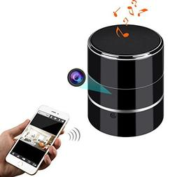 Camera Bluetooth Speaker, Newwings WiFi Hidden Spy Camera, N