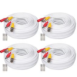 WildHD 4x150ft All-in-One Siamese BNC Video and Power Securi