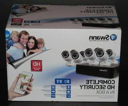 Brand New Sealed Packing, Swann 8 Channel 500GB DVR 8 HD Cam