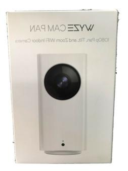 Wyze Cam Pan 1080p Pan/Tilt/Zoom Wi-Fi Indoor Smart Home Cam