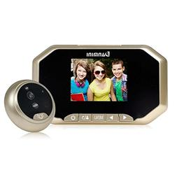 3 inches LCD HD Camera Cam, Aurorax 160 Degrees Wifi Wireles