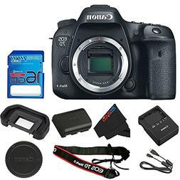 Canon EOS 7D Mark II DSLR Camera Body Only 16GB I3ePro SD Ca