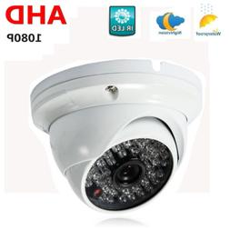 CCTV 1080P HD Camera Waterproof Wide Angle Security IR-CUT f