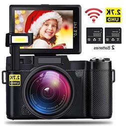 AMKOV CD-R2 Digital Camera Vlogging Camera 24MP 2.7K 1080P W
