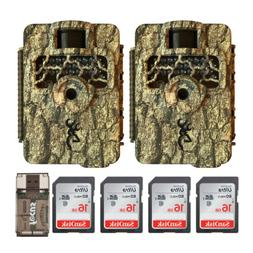 Browning Trail Cameras Command Ops HD 16MP IR Game Cam 2-Pac