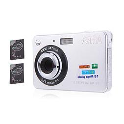 "AMKOV Compact HD Digital Camera Video Camcorder 18MP 2.7"" TF"