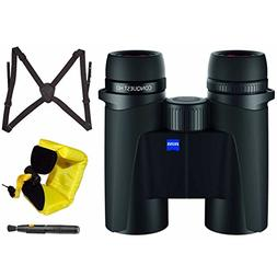 Zeiss 10x32 Conquest HD Binocular w/Focus Harness & Floating