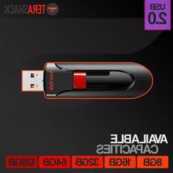 SanDisk Cruzer Glide 8GB 16GB 32GB 64GB 128GB Flash Drive US