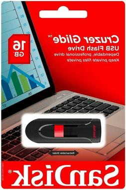 SanDisk Cruzer Glide 16GB USB 2.0 Flash Drive
