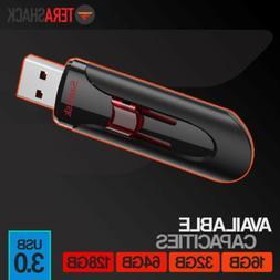SanDisk Cruzer Glide 128GB 64GB 32GB 16GB USB 3.0 Flash Drive Thumb Stick Memory