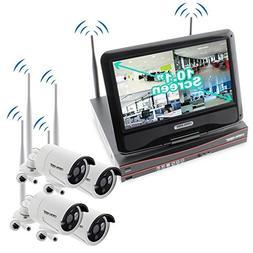 Crystal Vision CVT9604E-3010WHD 4-Ch HD 2TB HDD Wireless CCT