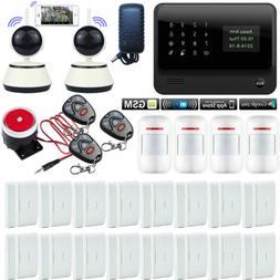 D13 G90B APP WiFi GSM Wireless Home Security Alarm Burglar S